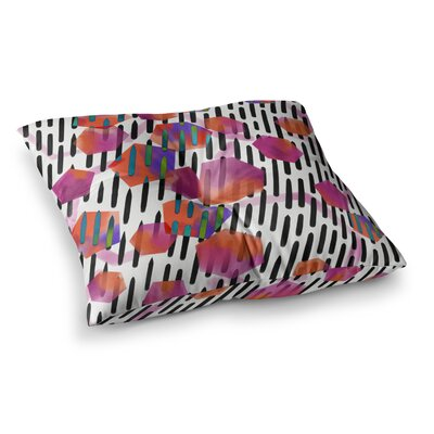 Victoria Krupp Geo Shapes Digital Square Floor Pillow Size: 23 x 23