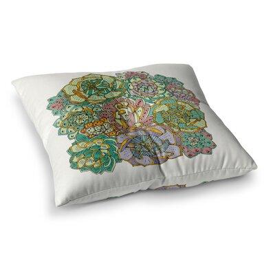 Pom Graphic Design Succulent Love Square Floor Pillow Size: 26 x 26