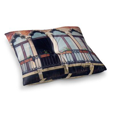 Sylvia Coomes Venice 11 Square Floor Pillow Size: 23 x 23