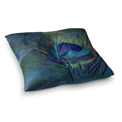 Robin Dickinson Plume Square Floor Pillow Size: 26 x 26