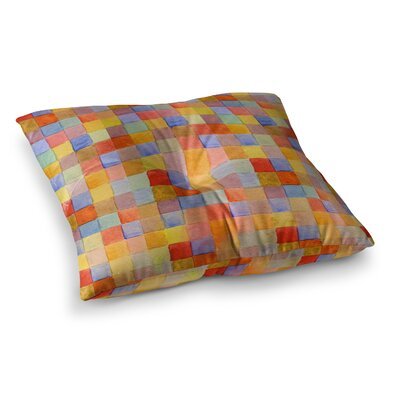 Marianna Tankelevich Mozaic Pattern Square Floor Pillow Size: 26 x 26