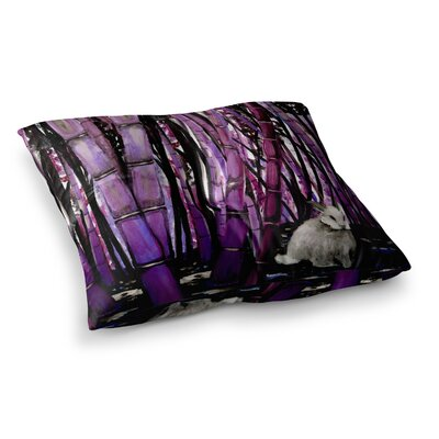 Zara Martina Mansen Curious Alice Square Floor Pillow Size: 26 x 26