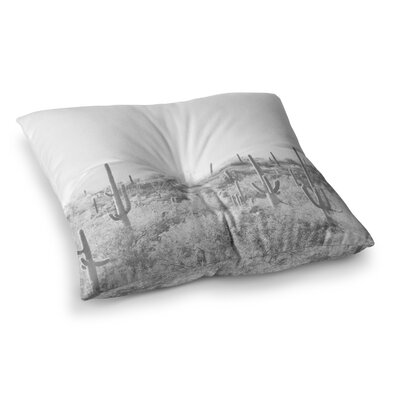 Sylvia Coomes Cactus Photography Square Floor Pillow Size: 26 x 26
