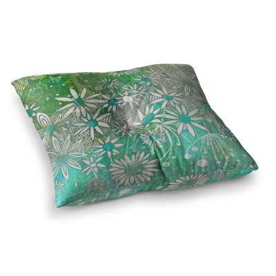 Marianna Tankelevich Night Square Floor Pillow Size: 23 x 23, Color: Green