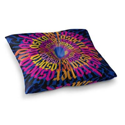 Roberlan Ad Astra Per Aspera Mandala Square Floor Pillow Size: 23 x 23