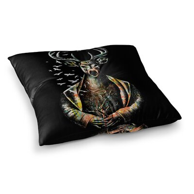 BarmalisiRTB There Is No Place Square Floor Pillow Size: 23 x 23