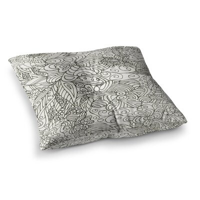 Rosie Brown Zengle Garden Zengle Square Floor Pillow Size: 23 x 23