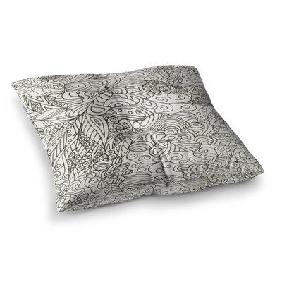Rosie Brown Zengle Garden Zengle Square Floor Pillow Size: 26 x 26