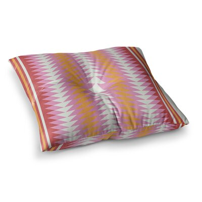 Skye Zambrana Bomb Pop Square Floor Pillow Size: 26 x 26