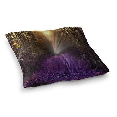 Viviana Gonzalez Nostalgia Digital Square Floor Pillow Size: 26 x 26