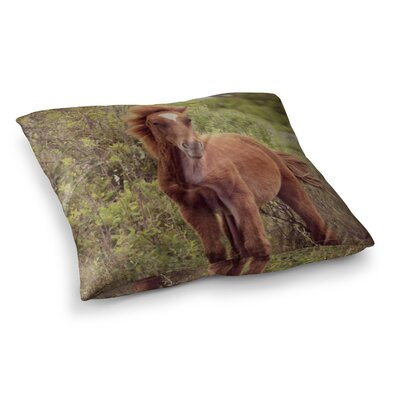Robin Dickinson Confuscous Square Floor Pillow Size: 26 x 26