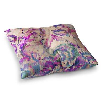 Nikki Strange Weirdi Kat Square Floor Pillow Size: 26 x 26
