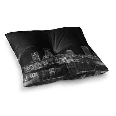 Nick Nareshni Cityscape Nights Photography Square Floor Pillow Size: 26 x 26