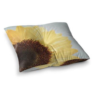 Susannah Tucker Sunshine Sunflower Square Floor Pillow Size: 23 x 23