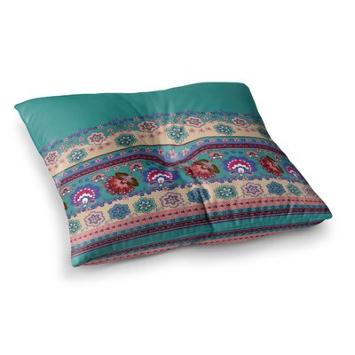 Vasare Nar Abiodun Tribal Square Floor Pillow Size: 23 x 23