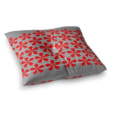 Trebam Crvena Square Floor Pillow Size: 23 x 23