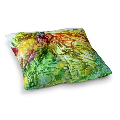 Rosie Brown Kaleidoscope Square Floor Pillow Size: 23 x 23