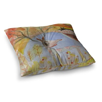Marianna Tankelevich Promise of Magic Square Floor Pillow Size: 26 x 26