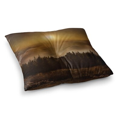 Viviana Gonzalez the Awakening Square Floor Pillow Size: 23 x 23