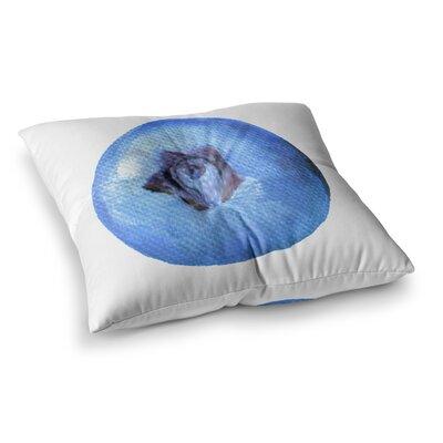 Theresa Giolzetti Blueberry Square Floor Pillow Size: 23 x 23