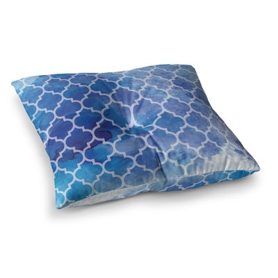 NL Designs Moroccan Digital Square Floor Pillow Size: 23 x 23