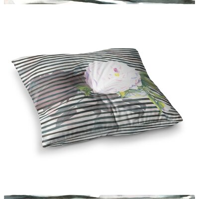 S. Seema Z Peony n Square Floor Pillow Size: 23 x 23