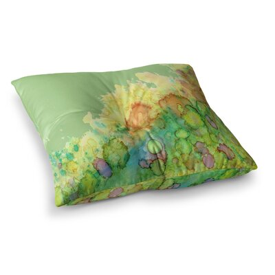 Rosie Brown Sea Life Square Floor Pillow Size: 26 x 26