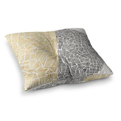 Pom Graphic Design Inca Day and Night Square Floor Pillow Size: 23 x 23