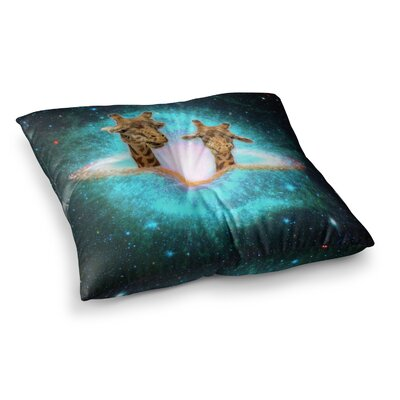 Suzanne Carter Fred and Larry Fantasy Square Floor Pillow Size: 26 x 26