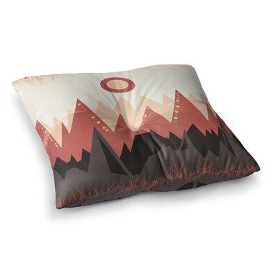Viviana Gonzalez Landscape Square Floor Pillow Size: 23 x 23