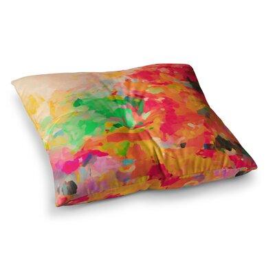 Oriana Cordero La Rochelle- Square Floor Pillow Size: 26 x 26