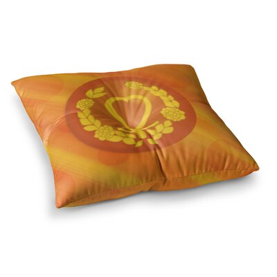 NL Designs Venus Square Floor Pillow Size: 23 x 23