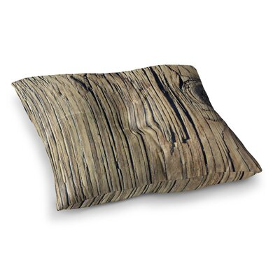 Nick Nareshni Tree Bark Pattern Photography Square Floor Pillow Size: 26 x 26