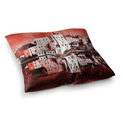 Suzanne Carter Sky at Night Square Floor Pillow Size: 23 x 23
