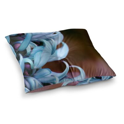Suzanne Carter Emerge Floral Square Floor Pillow Size: 26 x 26