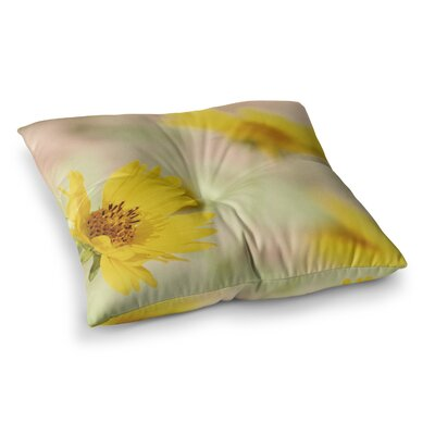 Sylvia Coomes Flowers Photography Square Floor Pillow Size: 23 x 23