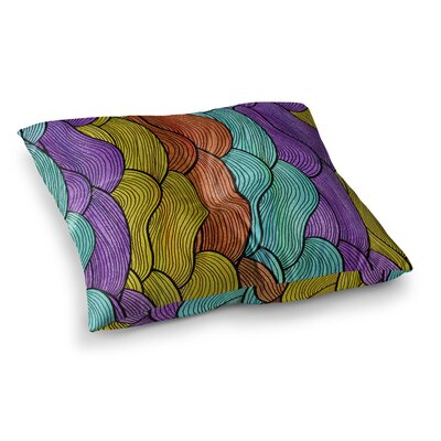 Pom Graphic Design Textiles Square Floor Pillow Size: 23 x 23