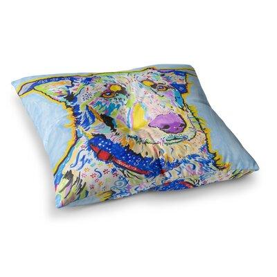 Rebecca Fischer Becca Rainbow Square Floor Pillow Size: 26 x 26