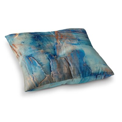 Malia Shields the 2 Painting Square Floor Pillow Size: 26 x 26
