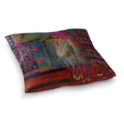 S. Seema Z Ethnic Escape Ped Square Floor Pillow Size: 23 x 23