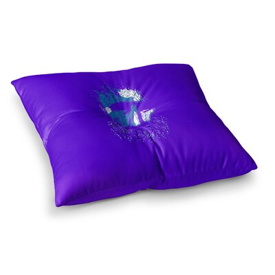 BarmalisiRTB Broken Pieces Square Floor Pillow Size: 23 x 23
