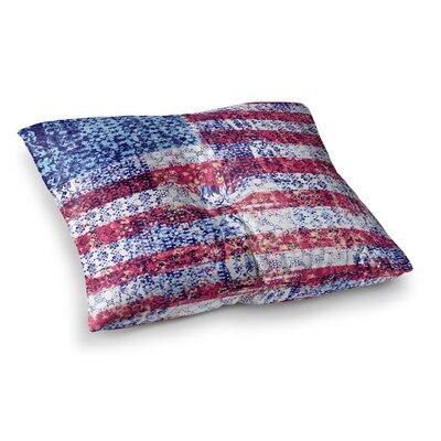Victoria Krupp Boho Americana Mixed Media Square Floor Pillow Size: 23 x 23