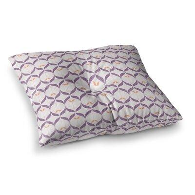 Neelam Kaur Textu Modern Reminisence Square Floor Pillow Size: 26 x 26