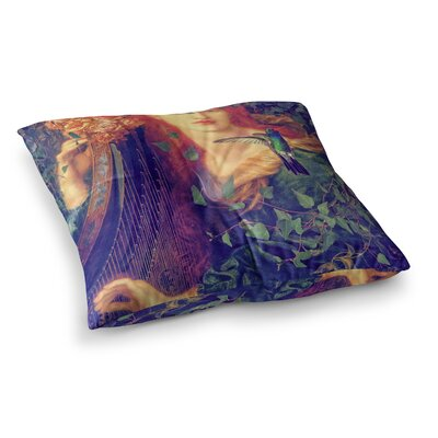 Suzanne Carter Hummingbird Square Floor Pillow Size: 23 x 23