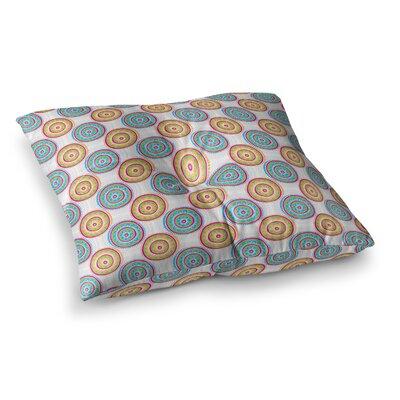 Apple Kaur Designs Bombay Dreams Square Floor Pillow Size: 23 x 23