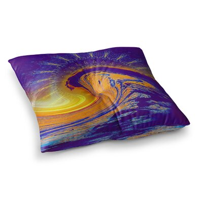 Infinite Spray Art Devreux Nautical Square Floor Pillow Size: 23 x 23