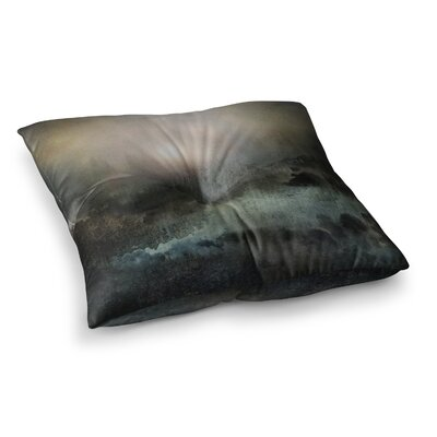 Viviana Gonzalez Calling the Sun II Square Floor Pillow Size: 23 x 23