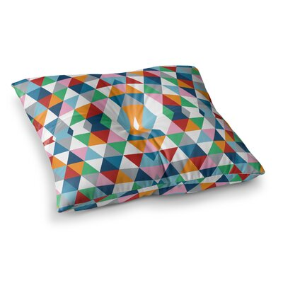 Project M Geometric Square Floor Pillow Size: 23 x 23