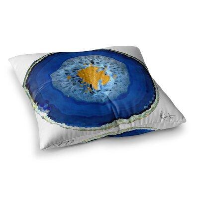 Oriana Cordero Agate Square Floor Pillow Size: 26 x 26