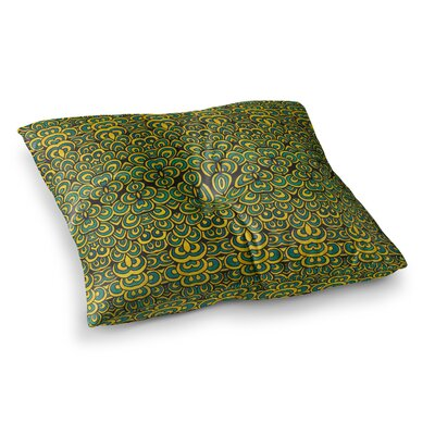 Pom Graphic Design Animal Temple II Square Floor Pillow Size: 26 x 26